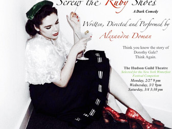 US Premiere of Screw the Ruby Shoes