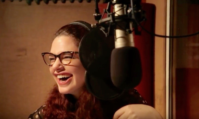 """""""The Wizard of Oz"""" Recording as Dorothy"""