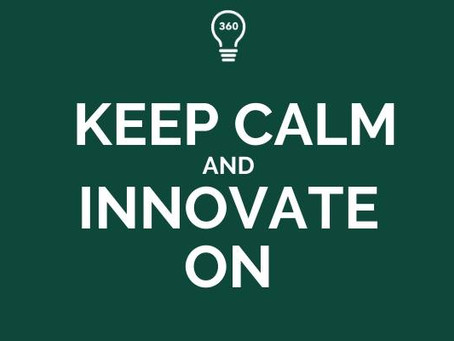 Keep Calm and Innovate On