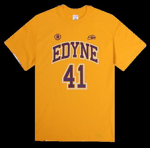 T-shirt Basket jaune