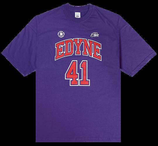 T-shirt Basket violet