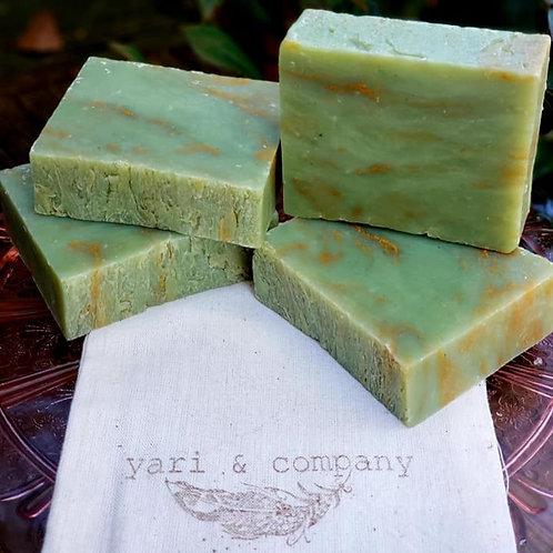 Green Clover Field Soap