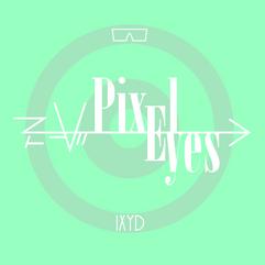 pochette Pixel Eyes