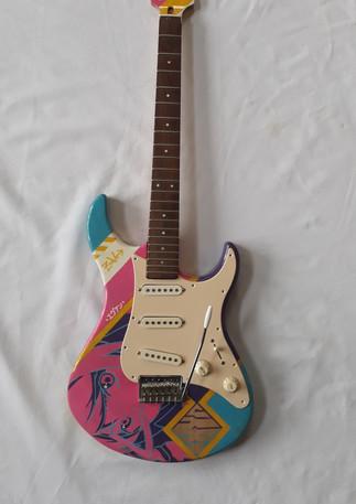 Customisation de guitare 1