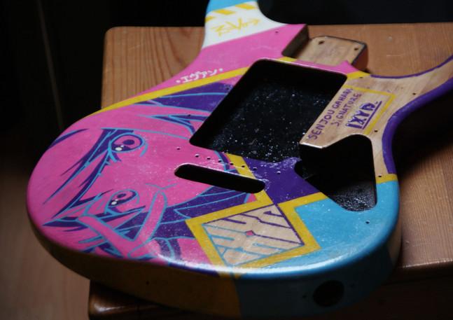 Customisation de guitare 2