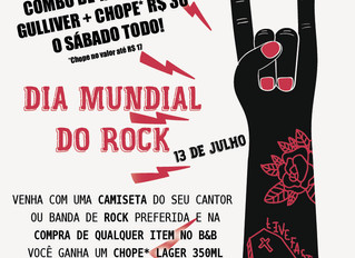 Dia do Rock no BOOKS&BEERS