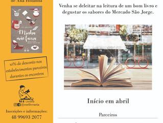 Clube de Leitura São Jorge Abril