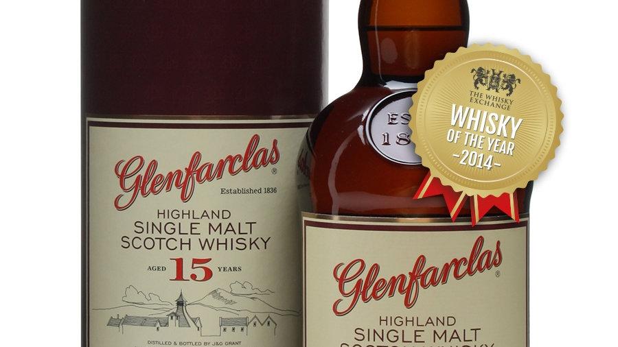 Glenfarclas 15 jaar 0.7 Ltr