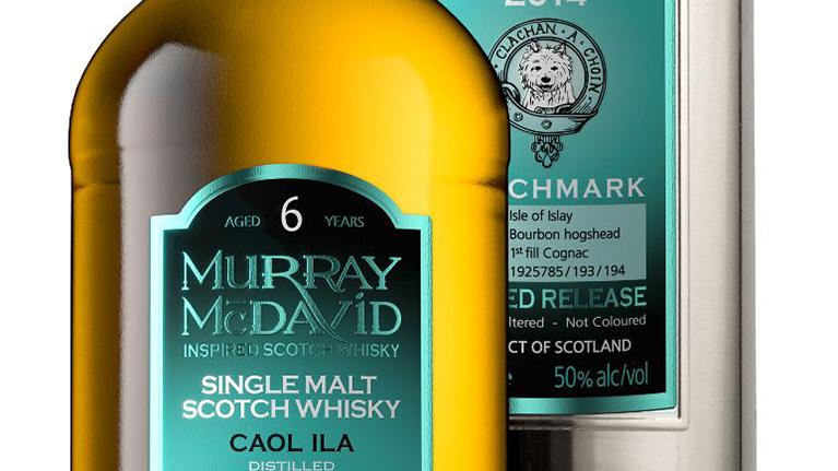 Caol Ila 2014 6 years old, 50% 1st fill Cognac finish 0,7l