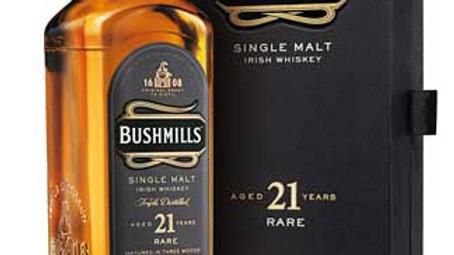 Bushmills 21 Jaar oud 0.7 Ltr