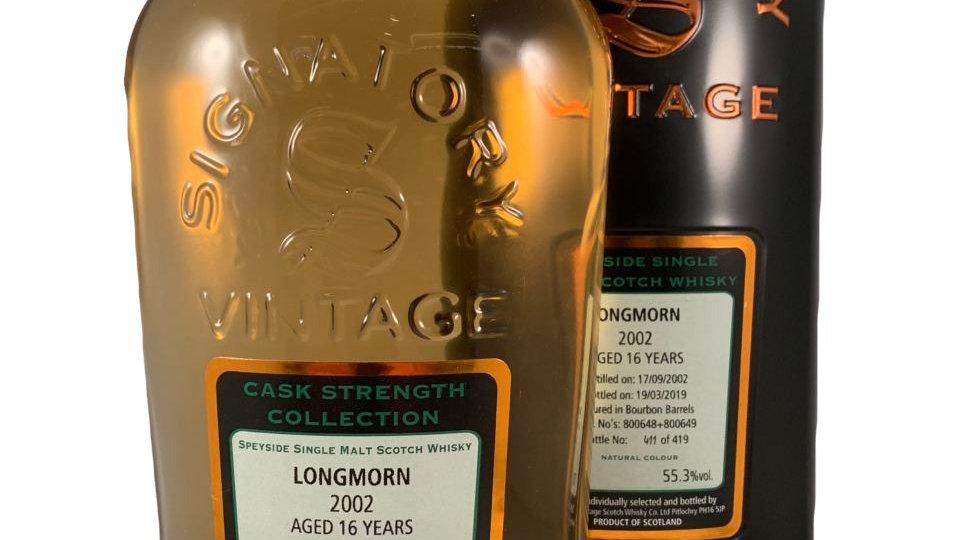 Longmorn Signatory Vintage 2002 0.7 Ltr
