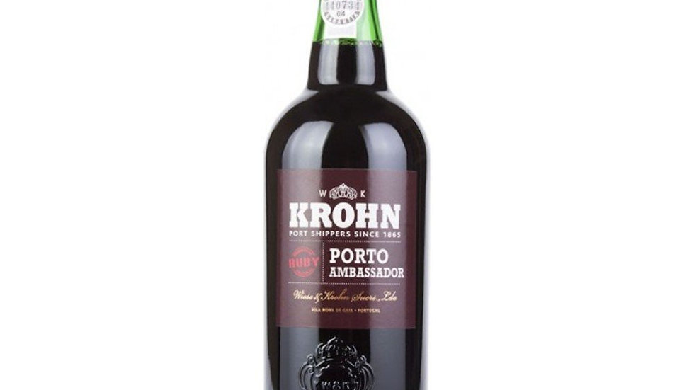 Krohn Ruby Port 0.75 Ltr