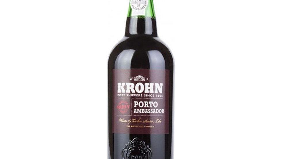 Krohn Ruby Port 0.75 Ltr