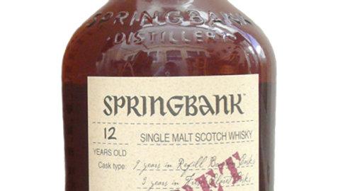 Springbank Claret Cask 0.7 Ltr