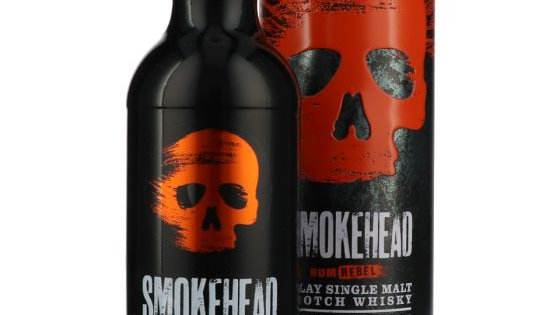 SmokeHead rum Rebel 0.7 ltr