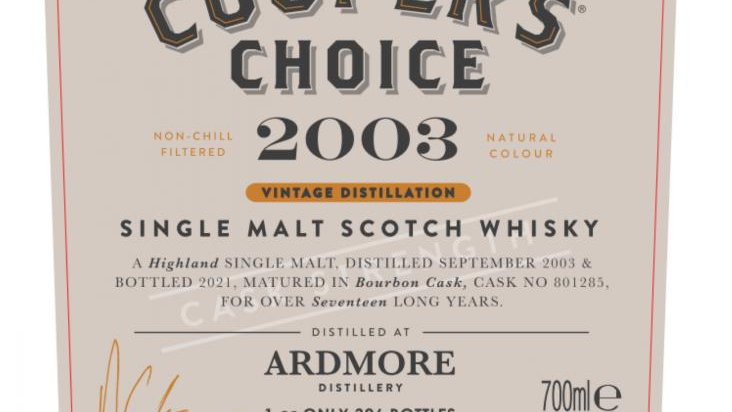 Ardmore Coopers Choice 0.7 ltr