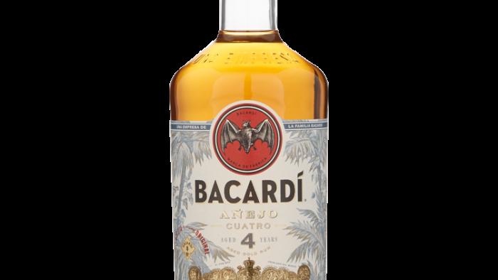 Bacardi 4 Jaar 0.7 Ltr