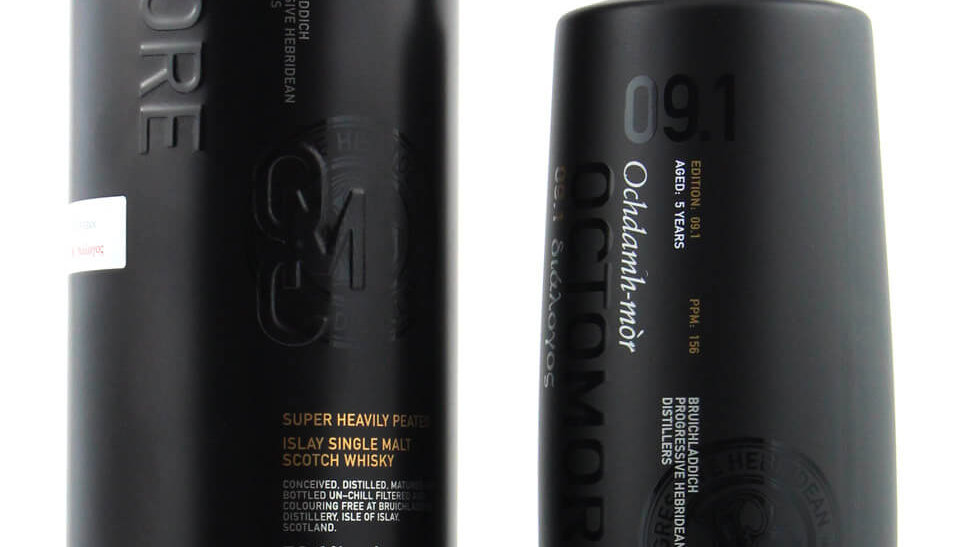 Octomore 9.1 Islay Heavily Peated 0.7 ltr