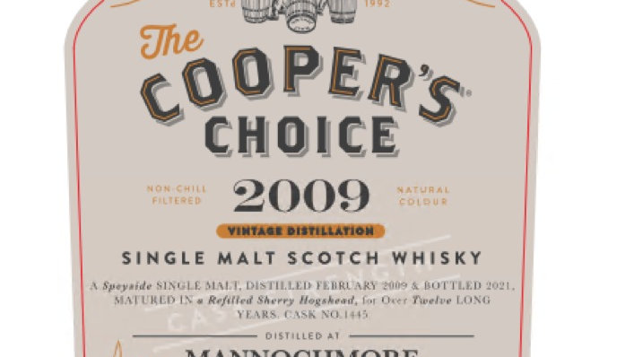 Mannochmore Coopers Choice 0.7 ltr