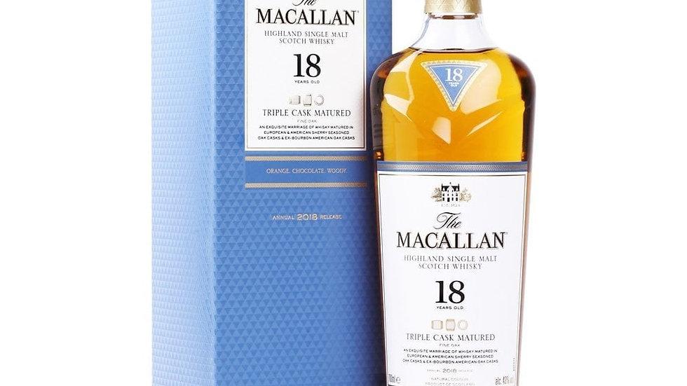 Macallan 18 Years Triple Cask 0.7 Ltr
