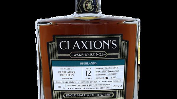 Claxton's Blair Athol Single Cask 0.7 Ltr