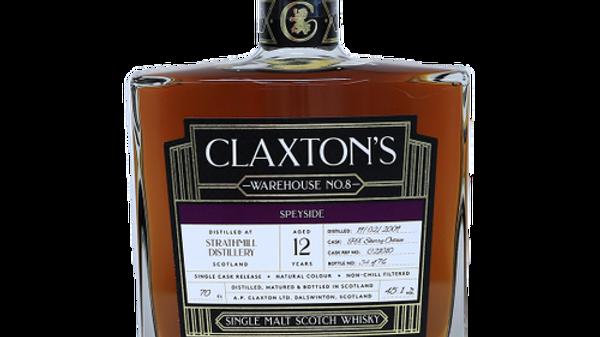 Claxton's Strathmill Single Cask 0.7 Ltr