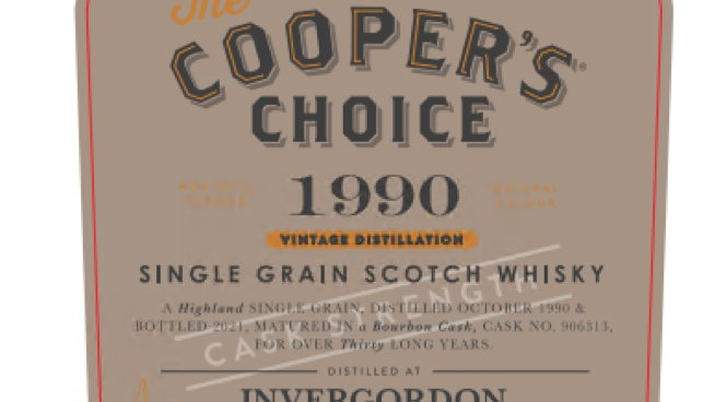 Invergordon Coopers Choice 0.7 Ltr