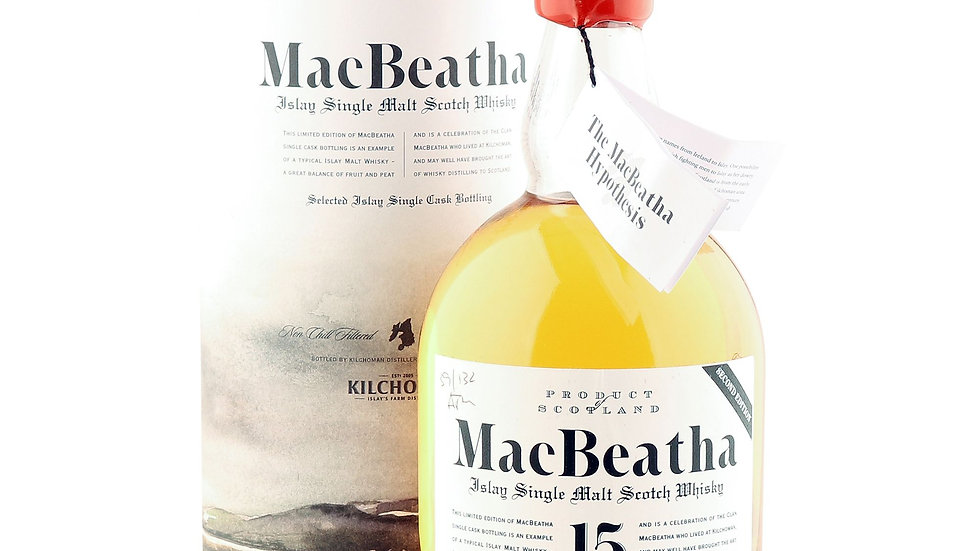 Mac Beatha  Bruichladdich 15 jaar 0.7 Ltr