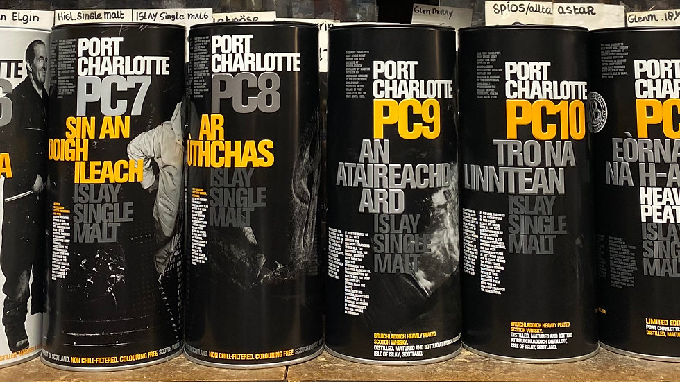 Port Charlotte Collection 8 X 70CL