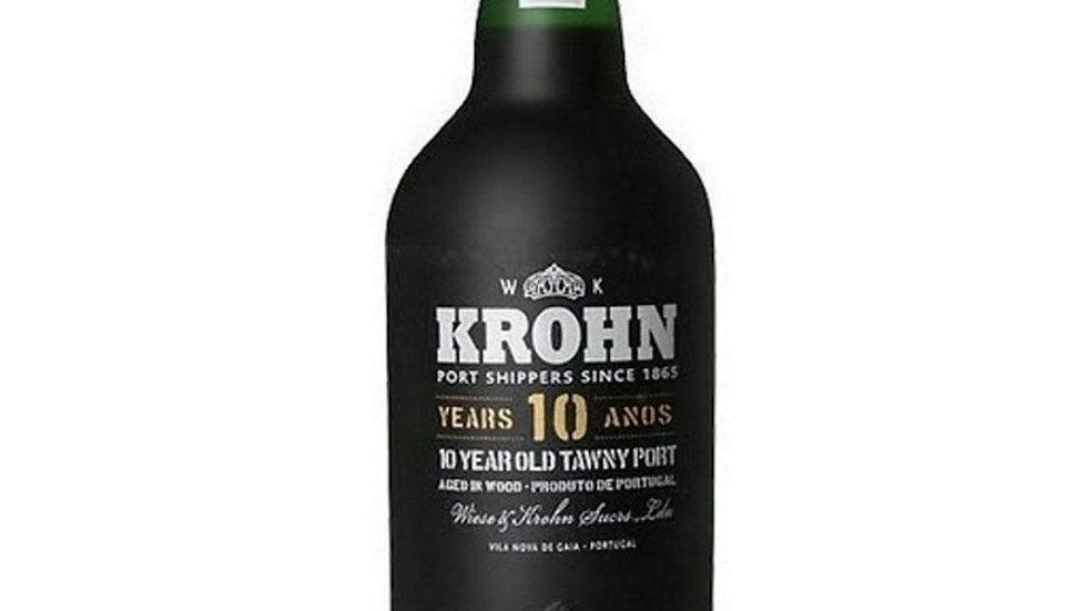 Krohn 10 jaar Tawny 0.75 Ltr