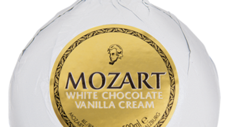 Mozart White Chocolate 0.5 Ltr