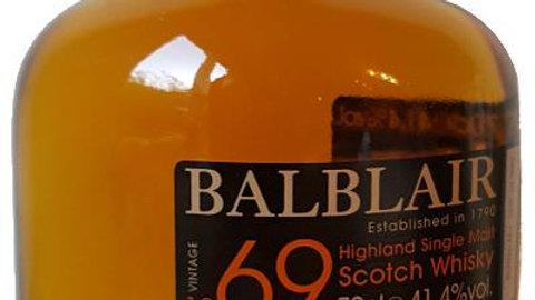 Balblair Vintage 1969 0.7 Ltr