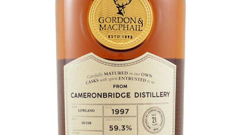 CameronBridge Gordon & Macphail 0.7 Ltr