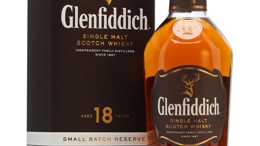 Glenfiddich 18 jaar 0.7 Ltr