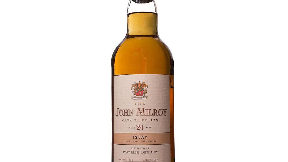 Port Ellen John Milroy Vintage 1982    0.7 Ltr