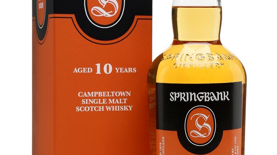 Springbank 10 jaar 0.7 Ltr