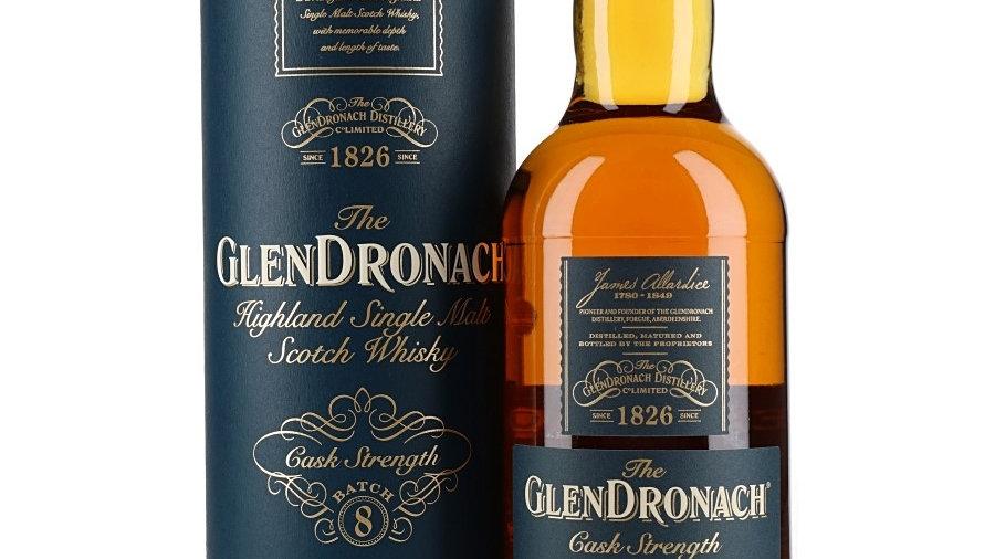 Glendronach cask Strength Batch 8 0.7 Ltr