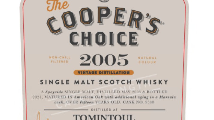 Tomintoul Coopers Choice 0.7 Ltr