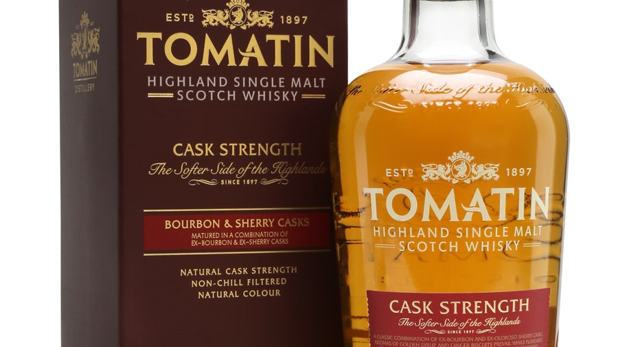Tomatin cask strenght  0.70L
