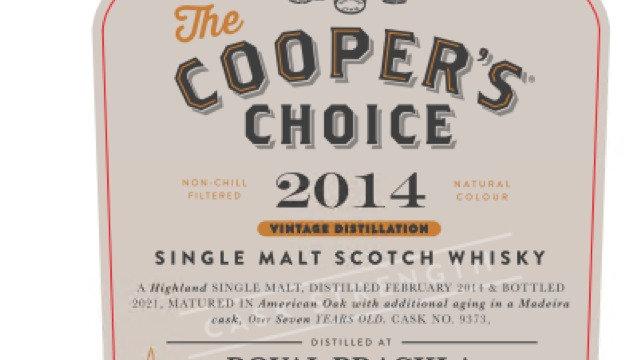 Royal Brackla Coopers Choice 0.7 Ltr