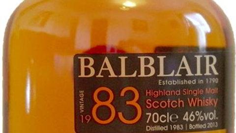 Balblair Vintage 1983 0.7 Ltr