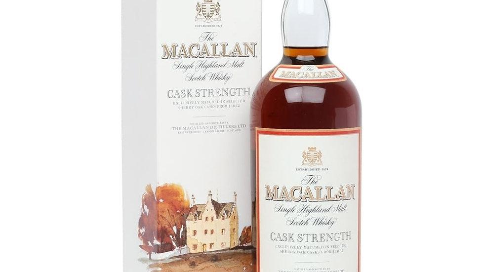 Macallan Cask strength 10 jaar 1.0 Ltr