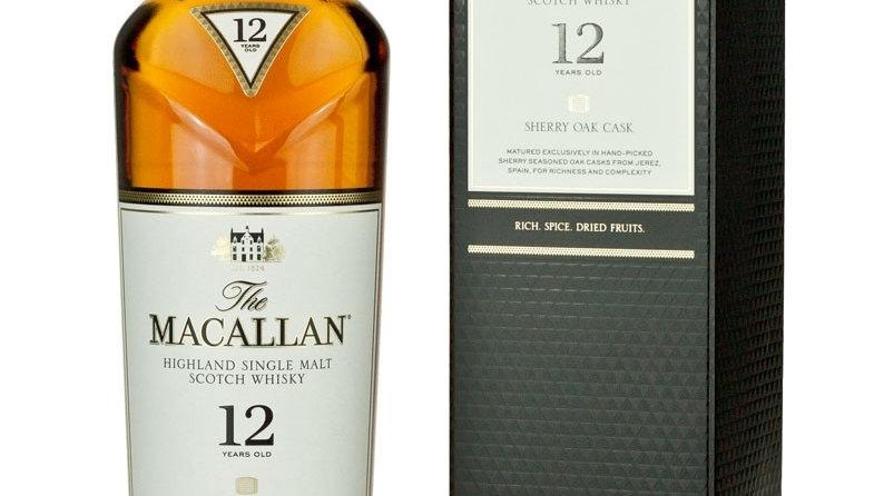 Macallan  12 Jaar Sherry Cask 0.7 Ltr