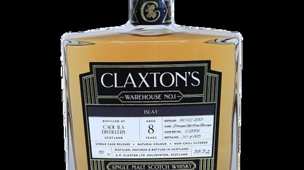 Claxton's Caol Ila Single Cask 0.7 Ltr
