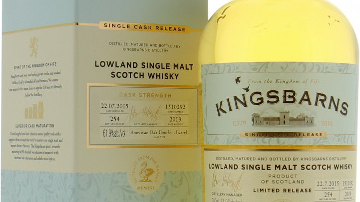 KingsBarns Limited Edition 0.7 Ltr