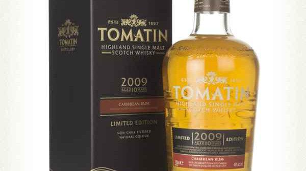 Tomatin Caribbean Rum cask 0.7 Ltr