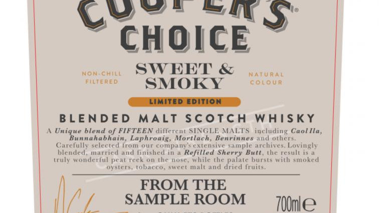 From The Sample Room Coopers Choice 0.7 Ltr