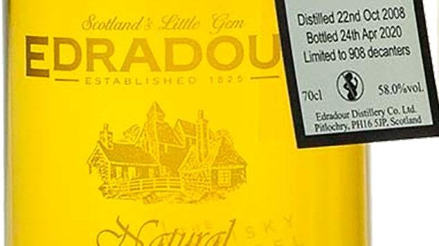 Edradour Vintage 2008 Bourbon Cask 0.7 Ltr