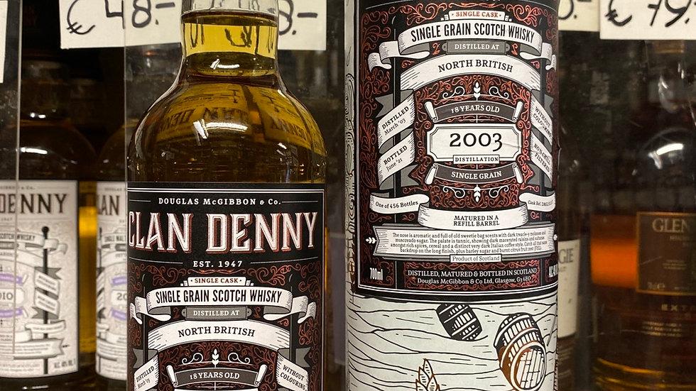 Clan Denny North British 18 jaar