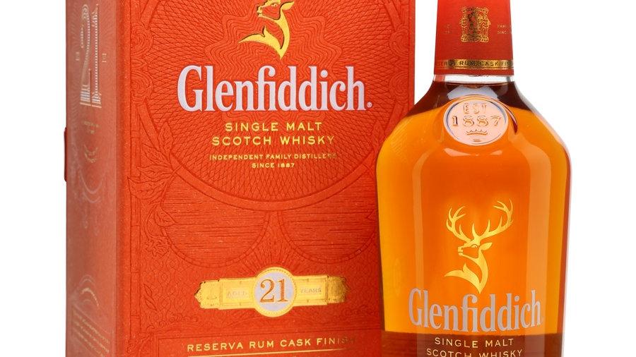 Glenfiddich Rum 21 jaar 0.7 Ltr